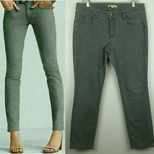 CAbi Bree Graphite Gray Ankle Skinny Jeans 326